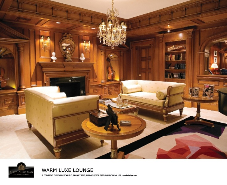 Clive Christian Antique Yew Formal Living Room