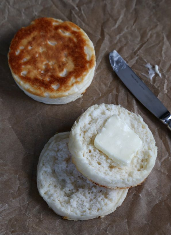 Super Fluffy Gluten Free English Muffins - Gluten-Free on a Shoestring. ☀CQ glutenfree bread