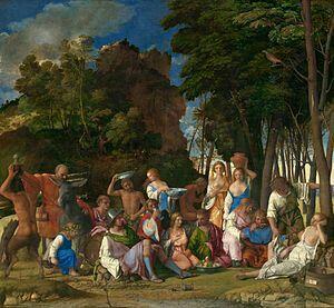 El festín de los dioses ( Bellini  )