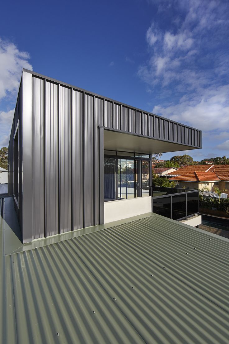 Gallery Of XYZ House / Mark Aronson Architecture   17. Metal CladdingWall  ... Amazing Pictures