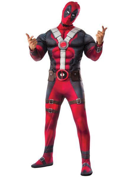 Deadpool Deluxe Adult Halloween Costume