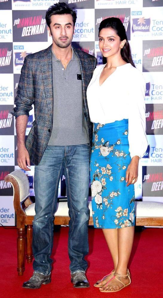 Ranbir Kapoor and Deepika Padukone promote 'Yeh Jawaani Hai Deewani' #Bollywood #Fashion