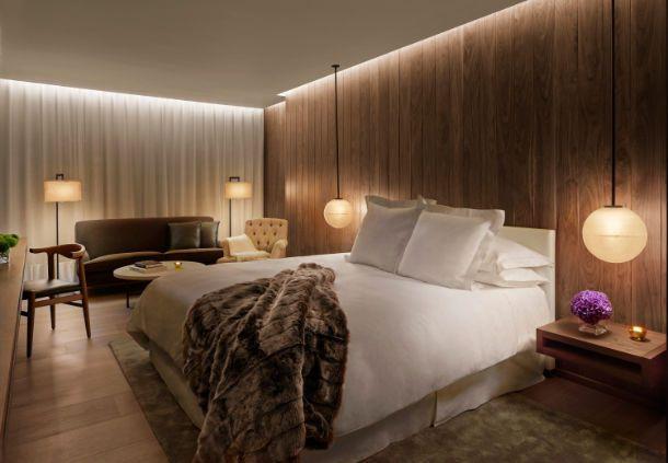 The London EDITION Loft Guest Room