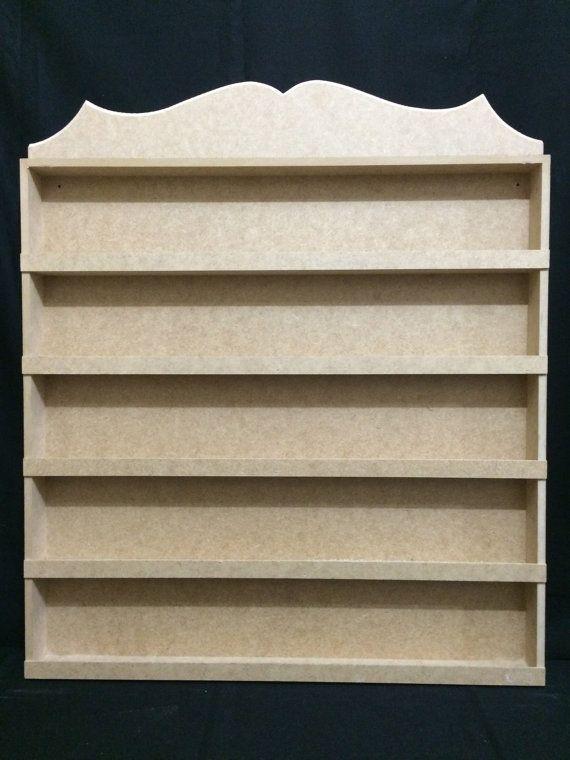 Nail Polish Wooden Rack/Organizer Custom Made by CLVLArtsBrazil