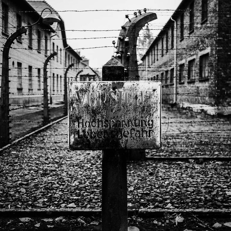 Auschwitz I. Barbed-wire fences. --- Photo by @dalesy.1275 ---
