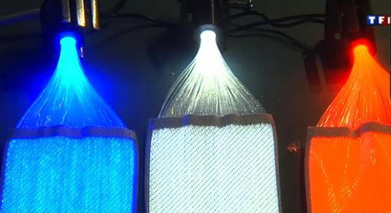 fibre optique déco