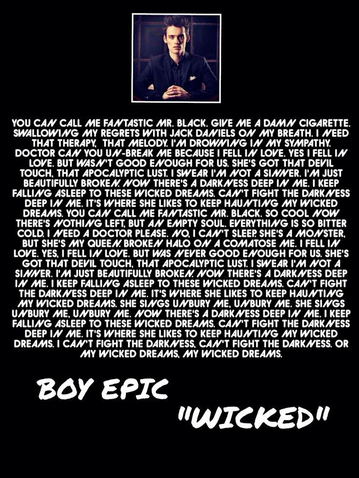 BoyEpic -Wicked