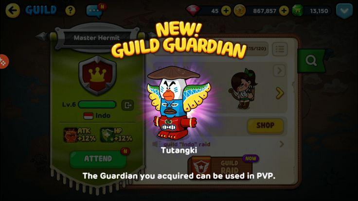 New Guild Guardian Success! Unlocked! #linerangers #tutangi #success #new #guildguardian #pvp