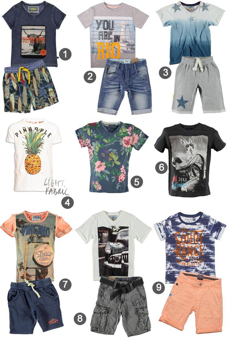 Zomerkleding-voor-jongens-zomerkleding-2015-jongens, leuke tshirts voor jongens