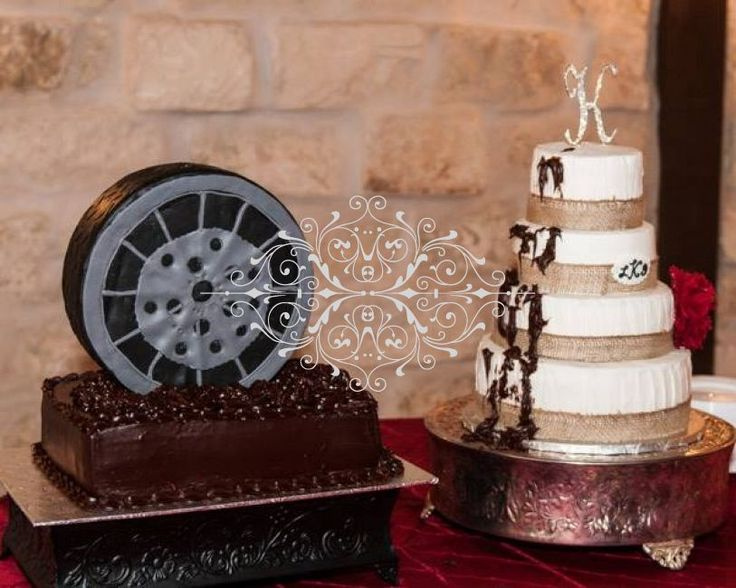 best 25 tire wedding cakes ideas on pinterest black heart shaped wedding cakes mechanic cake. Black Bedroom Furniture Sets. Home Design Ideas