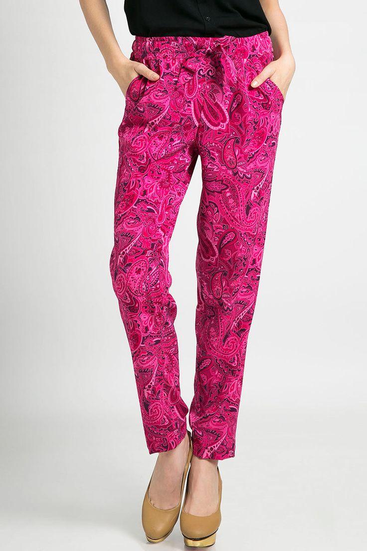pink batik pants