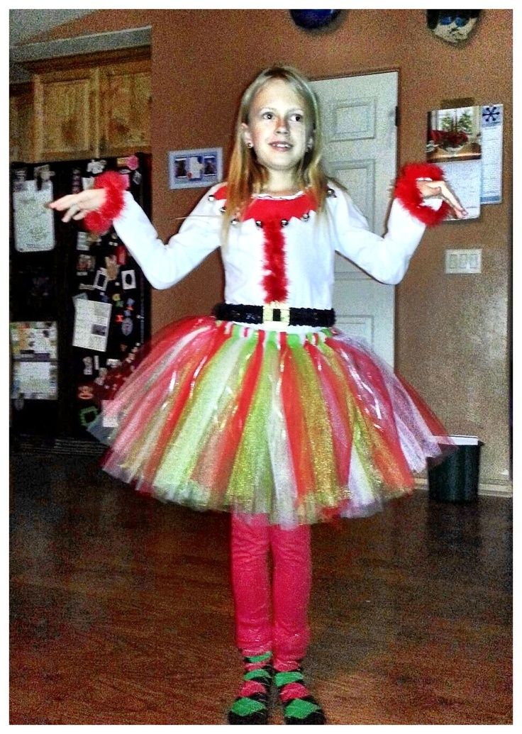 Diy Elf Outfits For Women  Homemade Elf Costume For A Play At School -5672