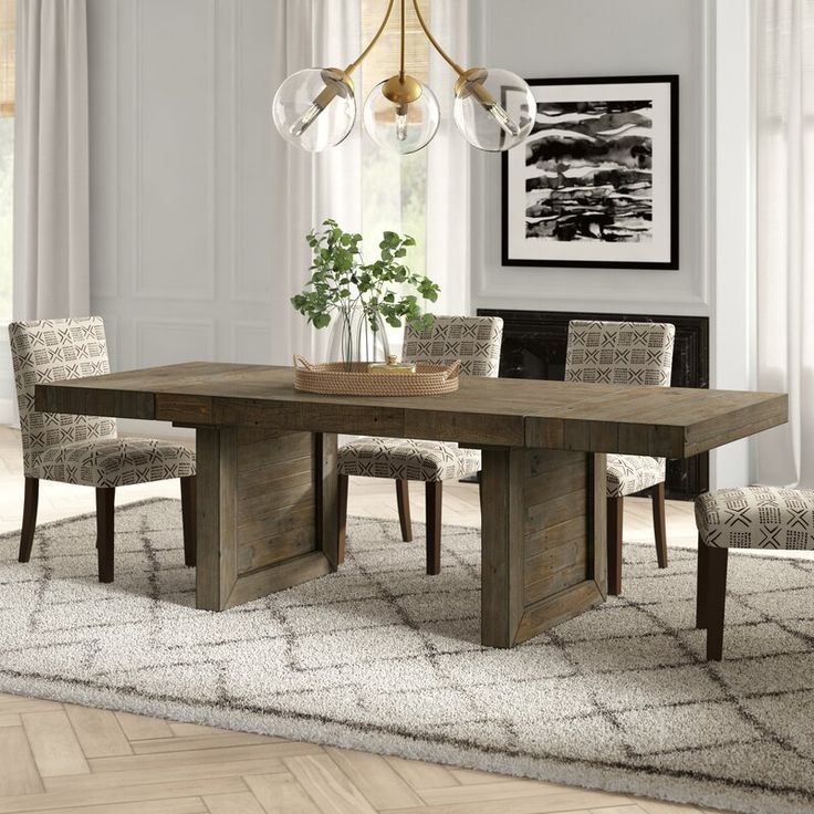 Silvana Extendable Dining Table Reviews Joss Main Dining Table Extendable Dining Table Wood Dining Table