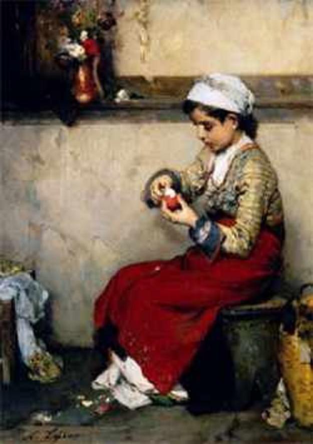 Νικηφόρος Λύτρας,Το παιδί(1832-1904).