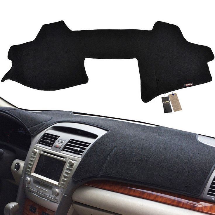 Awesome Awesome Black Dashboard Cover Dashmat Dash Mat For Toyota Camry 2007-2011 2018