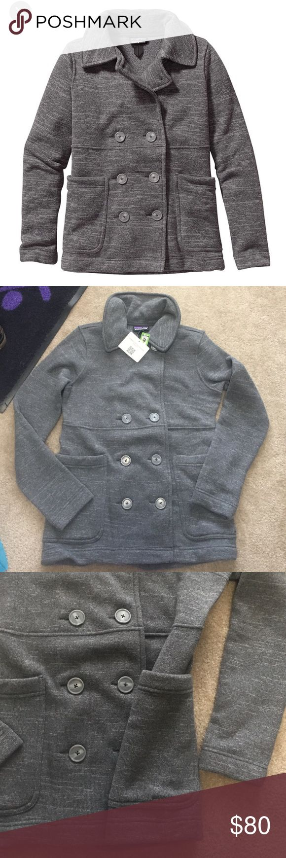 NWT Women's Patagonia Better Sweater Peacoat Med My sister bought me this for Christmas but it's a little too small on me! Wanting to sell to be able to buy a different jacket! No trades please. Reasonable offers are considered. Patagonia Jackets & Coats Pea Coats