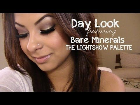 Tutorial: Day Look ft. Bare Minerals Light Show Palette - YouTube