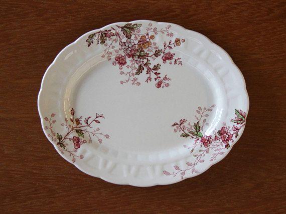 Booths China Washington Platter