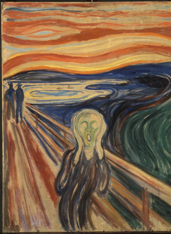 Ten Most Famous Paintings in the World N5. Scream by Edvard Munch