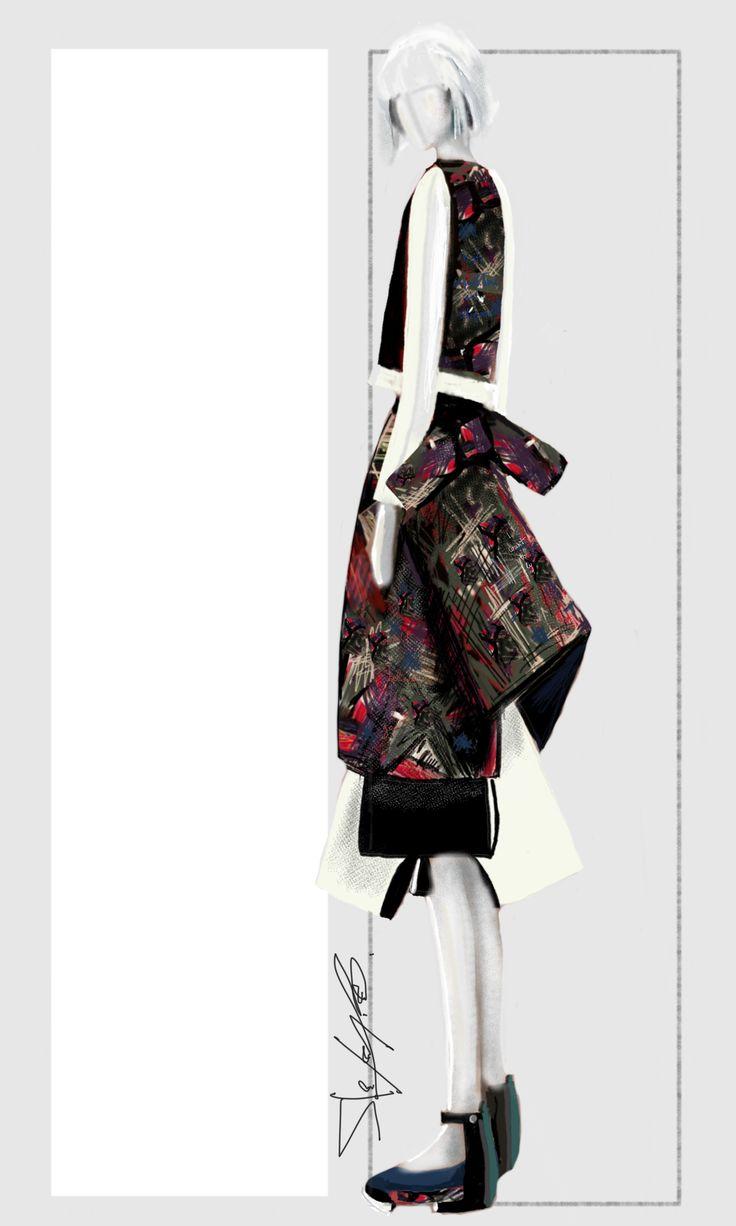 1000+ images about fashion illustrations-sketchbook on Pinterest ...