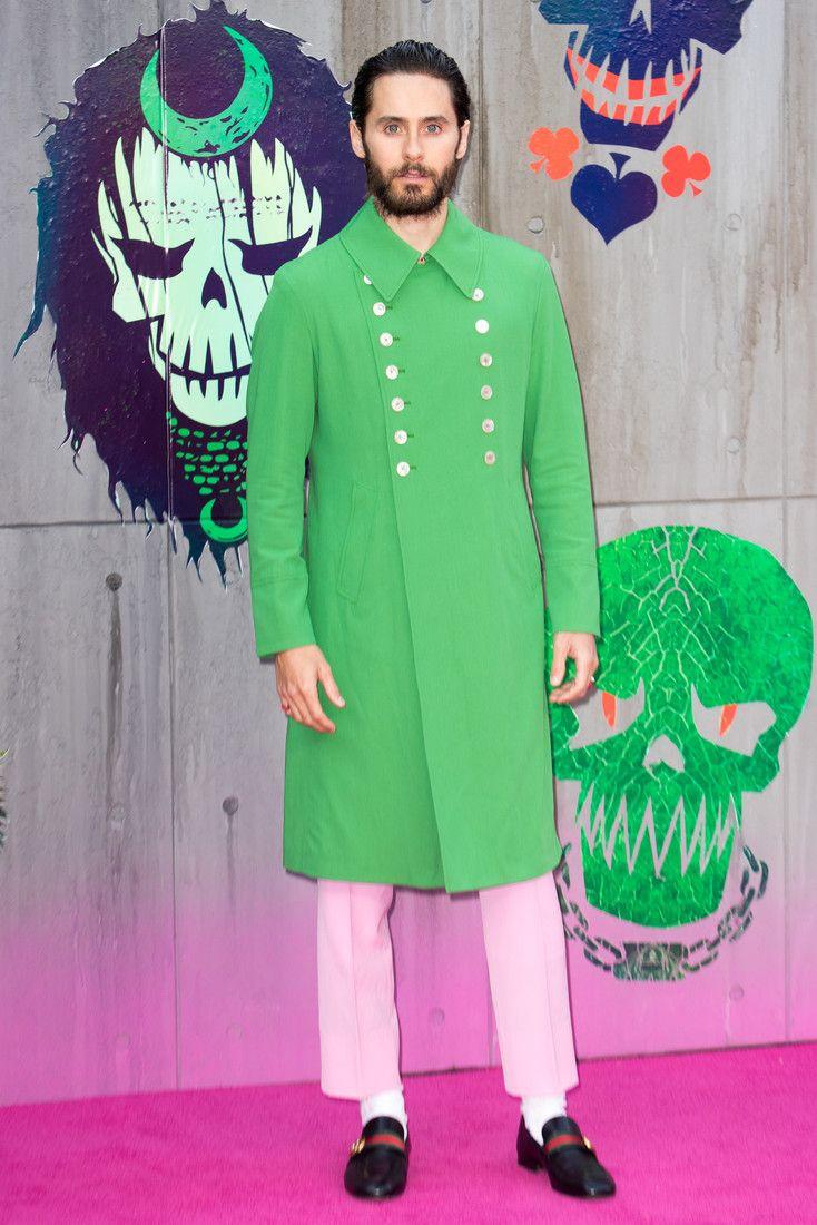 Розовые брюки, зеленое пальто: мастер-класс по сочетанию цветов от Джареда Лето : Джаред Лето / фото 1