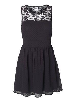 FEJA SL MINI DRESS, Black, main
