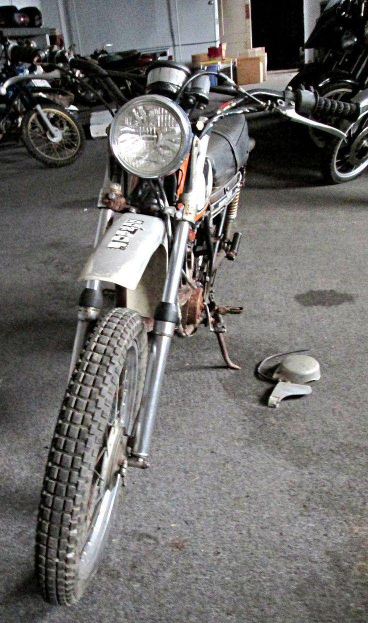 Yamaha dt100 enduro parts bike 1975 1976 ahrma acr vinatge dual sport antique ebay