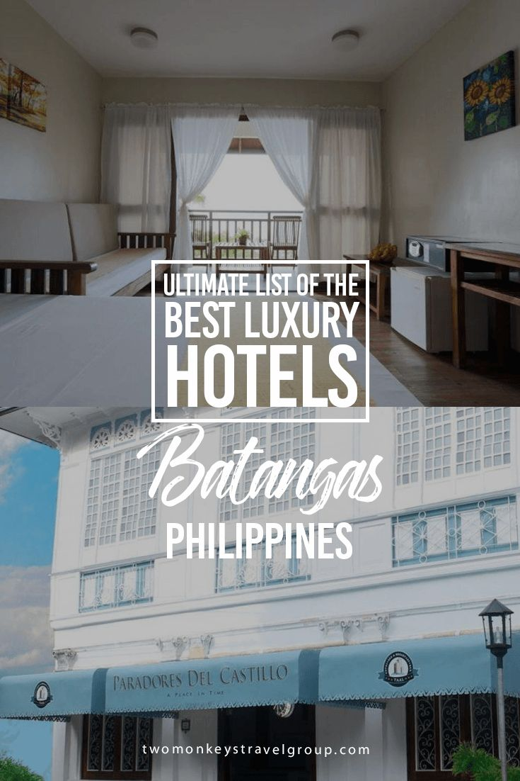 Ultimate List of Best Luxury Hotels in Batangas, Philippines