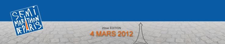 Semi-marathon de Paris 4 mars 2012