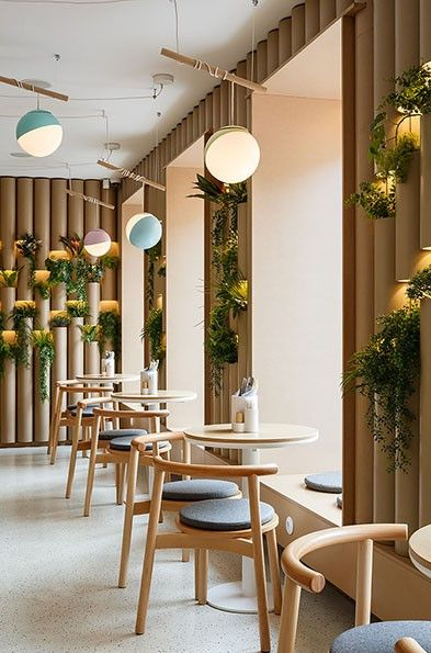 BAO MOCHI Restaurant in Saint Petersburg, Russia by Marat Mazur Interior Design