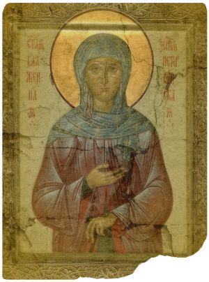 St. Xenia of Petersburg  ... patron saint of employment