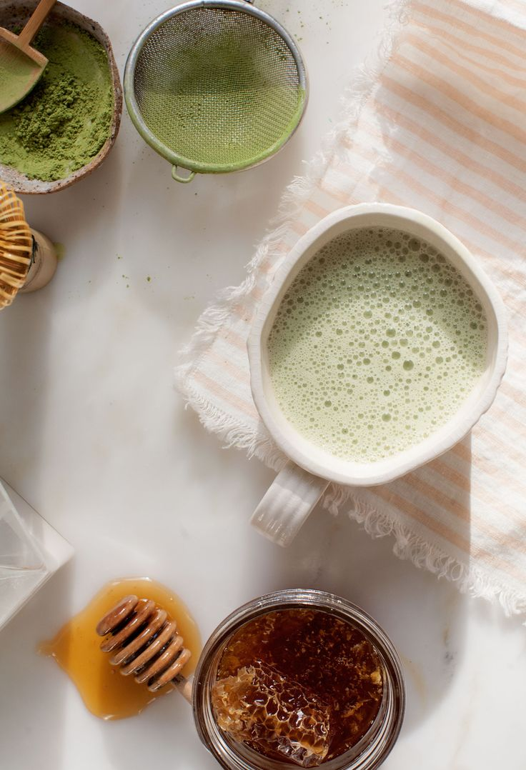 how to make iced green tea with matcha powder