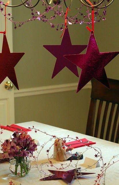 """American Girl Party- really love the """"conversation starters"""" activity she had the girls do, and other great ideas"""