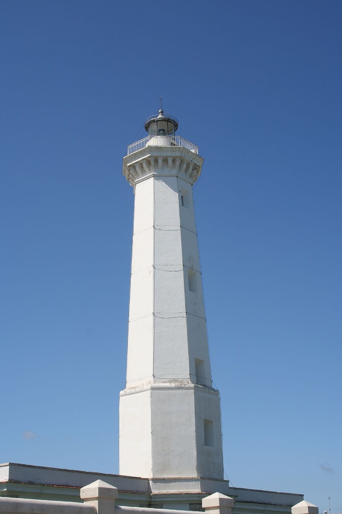Brindisi lighthouse Brindisi, province of Brindisi , region of Puglia, Italy