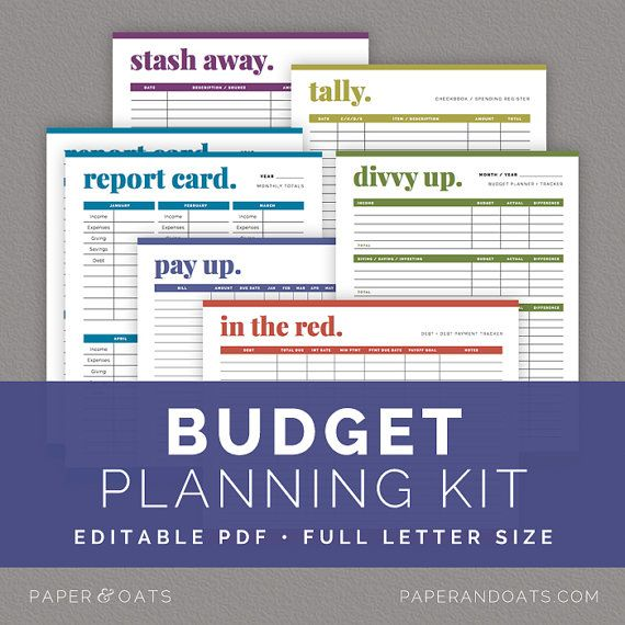 Wedding Planning Kit Editable Wedding To Do List by paperandoats