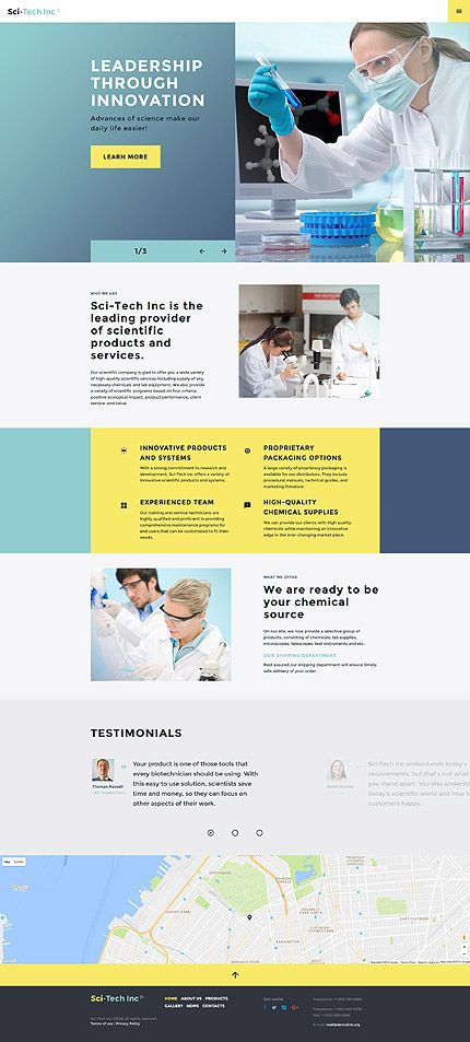 1001 best website templates images on pinterest before buying it check out this professional science lab responsive website template get to know tech details and requirements read testimonials pronofoot35fo Choice Image