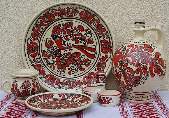 Ceramica De Corund Korund Romanian Traditional Art
