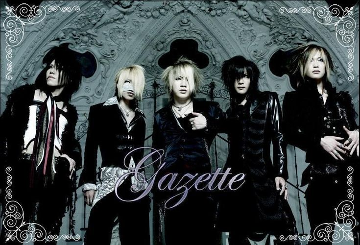Photo of Gazette. Their outfits say professional yet Rockstars without question