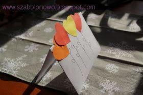 szabblonowo: Prosta walentynka. Kartka DIY II. Easy DIY Valentine Cards II