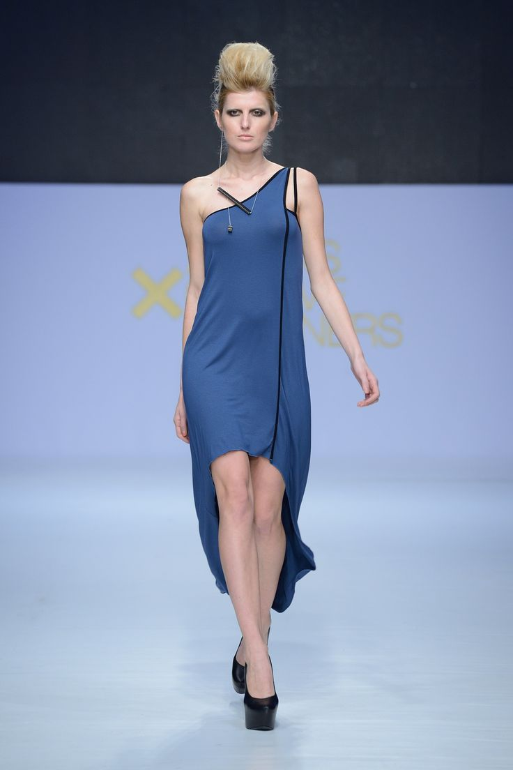 """Athina Korda Collection """"Work The Void"""" S/S '14 Fashion Show at 14th Athens Xclusive Designer Week..."""
