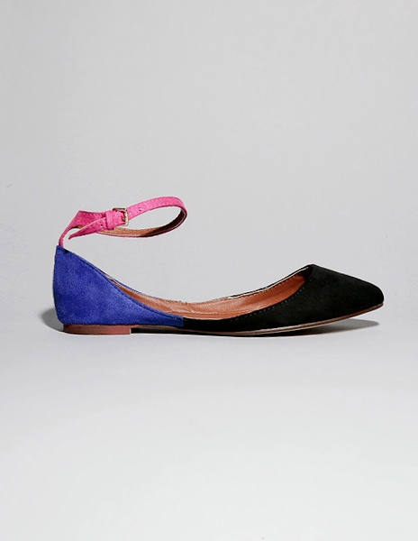 color block shoe