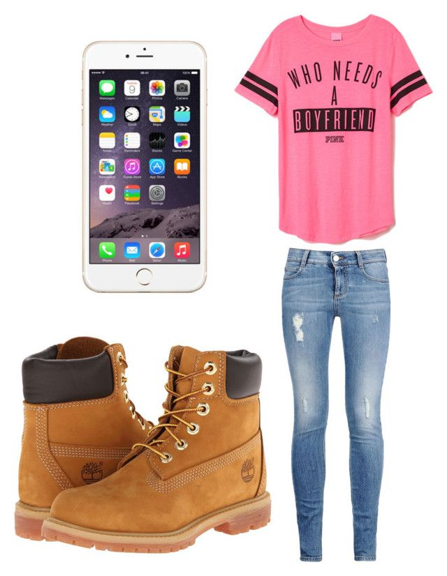 """Who needs a boyfriend?"" by zendaya-superstar ❤ liked on Polyvore featuring STELLA McCARTNEY and Timberland"