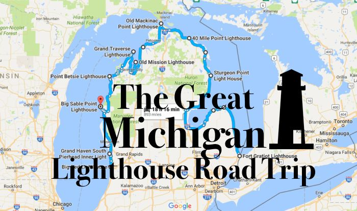 The Lighthouse Road Trip On The Michigan Coast That's Dreamily Beautiful