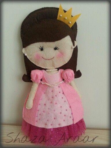 Doll Felt ...  My work .. Princess