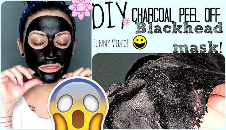 DIY: Charcoal Peel Off Mask::Bad Jokes Included::Must Watch!  Please help a sista out by sharing my pin! Thanks! #facemask #funny #beauty #skincare