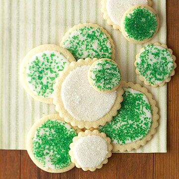 This is my go-to sugar cookie recipe year after year! They're always perfect. Cutout Sugar Cookies via Better Homes and Gardens