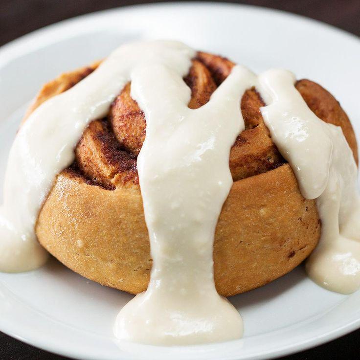 Healthier Homemade Cinnamon Rolls Recipe by Tasty
