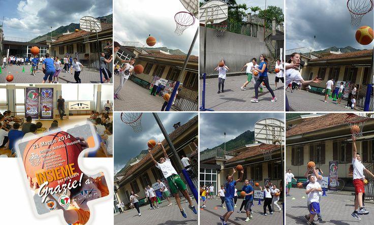 Mercoledì 21 maggio dalle ore 14 alle ore 15,45 presso la Scuola Rosmini di Omegna l'incontro tra due importanti iniziative sociali sul territorio #Basket4You e il progetto 'INSIEME per CRESCERE' dell'Istituto Rosmini. In perfetto spirito di squadra, continua il progetto #Basket4You sponsorizzato da #AlteaSpA e #Paffoni #FulgorScuolaBasket : il Basket come metafora di vita