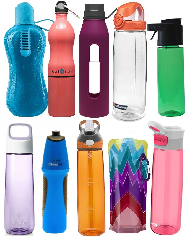 10 Cool Water Bottles (all priced at under $20)