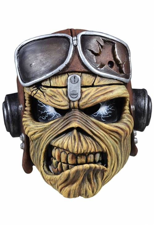 Iron Maiden Neue Offizielle Masken Fur Halloween Veroffentlicht